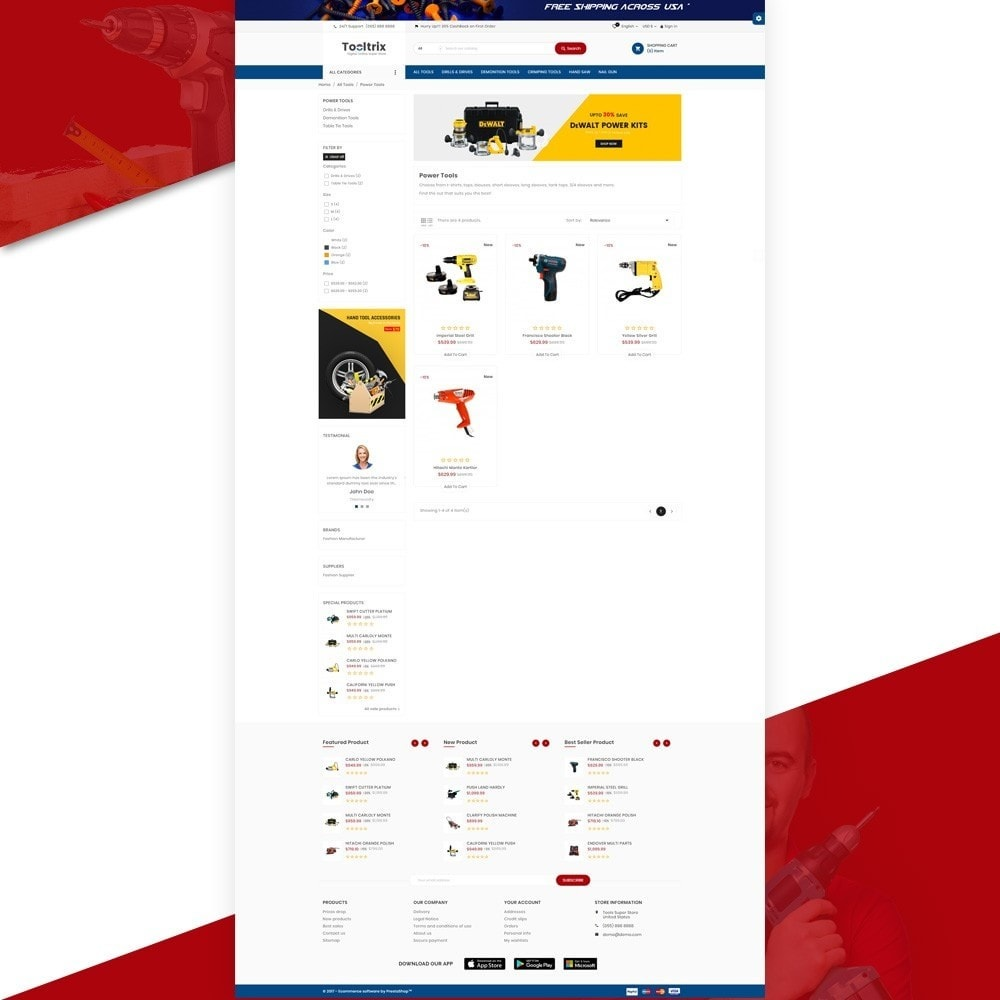 ToolTrix – Tools and Parts Super Store v2