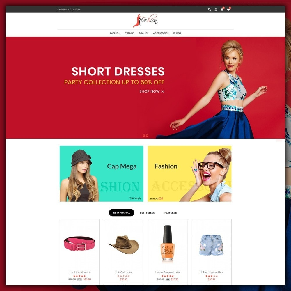 theme - Fashion & Shoes - Fashion Style Shop - 2