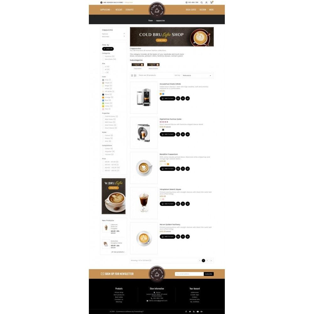 theme - Napoje & Wyroby tytoniowe - Coffee Shop - 4