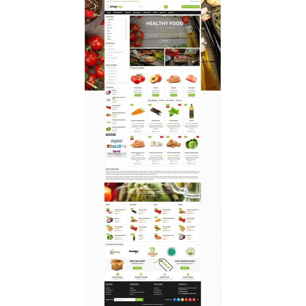 P16AT14 Food store