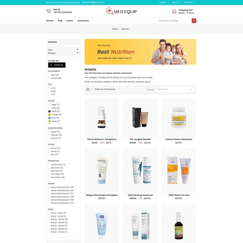 theme - Health & Beauty - Health and Medical Equipment Store - 5