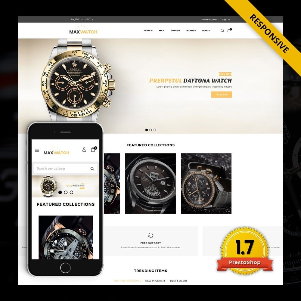 MaxWatch - Watch store