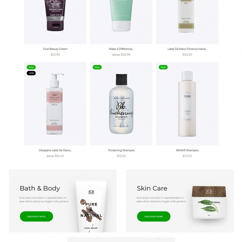 theme - Health & Beauty - Maddle Cosmetics - 3