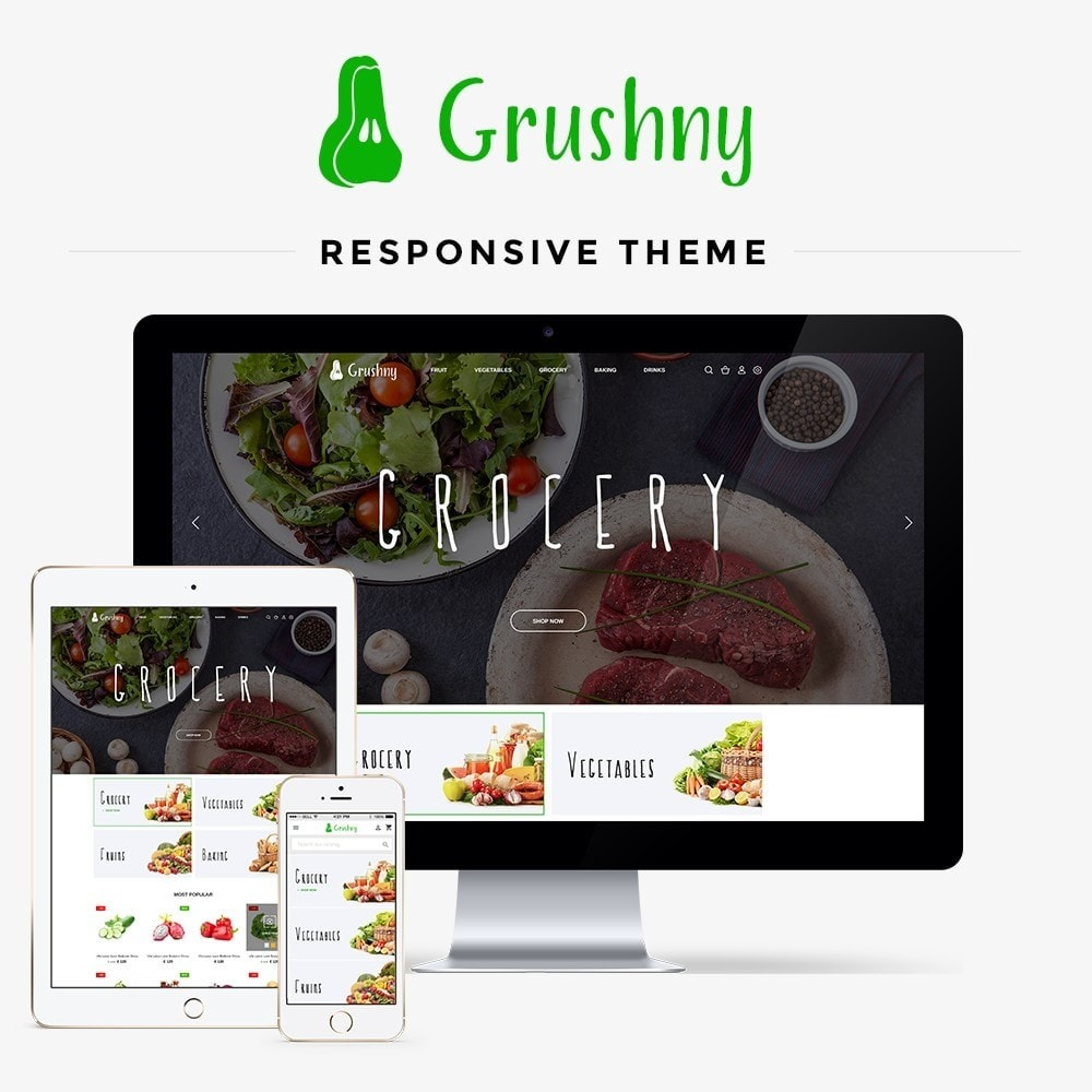 theme - Alimentos & Restaurantes - Grushny - 1
