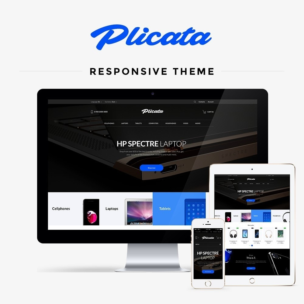 theme - Electronics & Computers - Plicata - High-tech Shop - 1