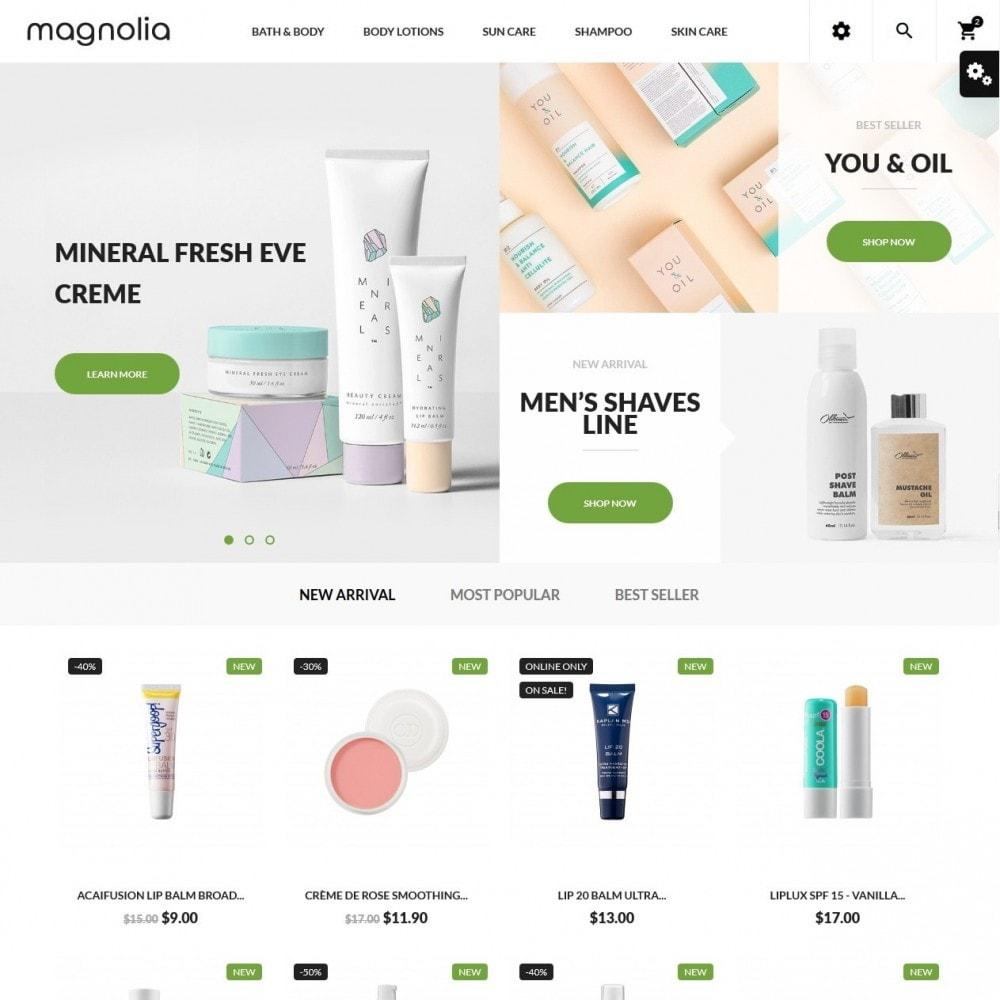 theme - Salute & Bellezza - Magnolia Cosmetics - 2