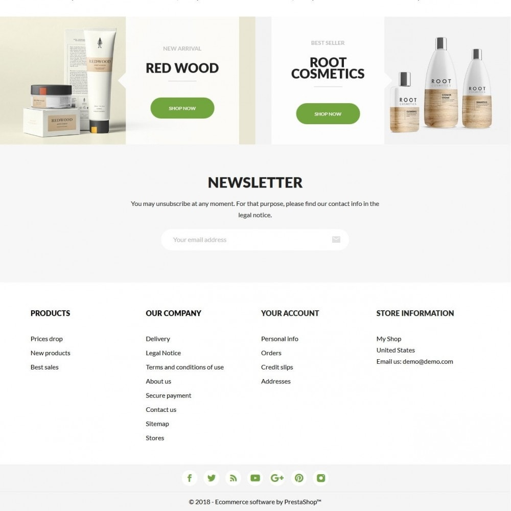 theme - Health & Beauty - Magnolia Cosmetics - 4