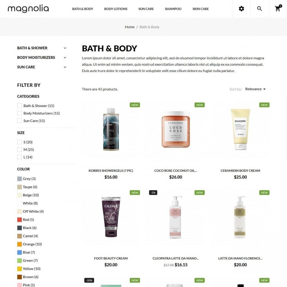 theme - Здоровье и красота - Magnolia Cosmetics - 5