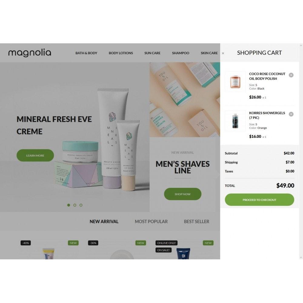 theme - Здоровье и красота - Magnolia Cosmetics - 7