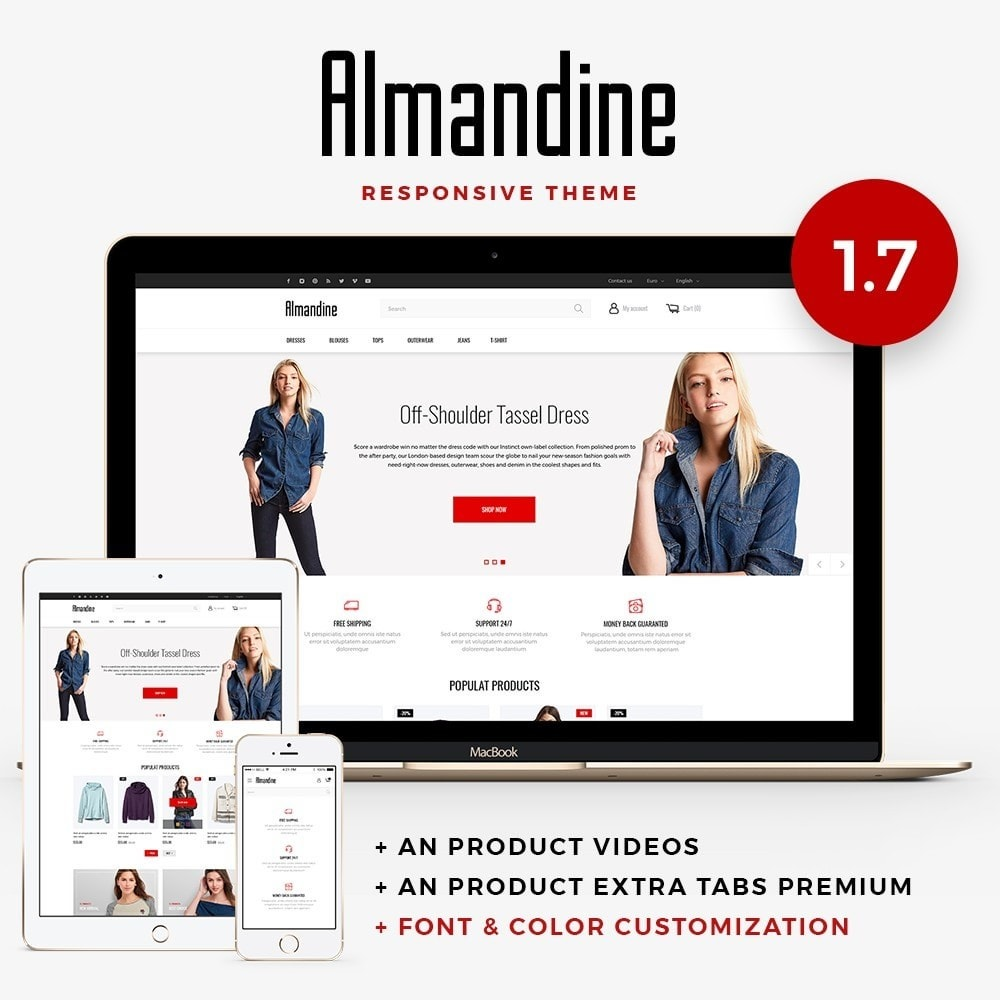 Almandine Fashion Store