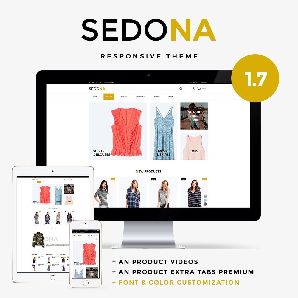 theme - Moda & Calçados - Sedona Fashion Store - 1