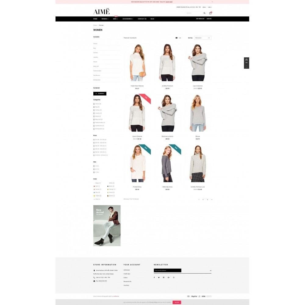 theme - Moda & Calzature - Aime Fashion - 3