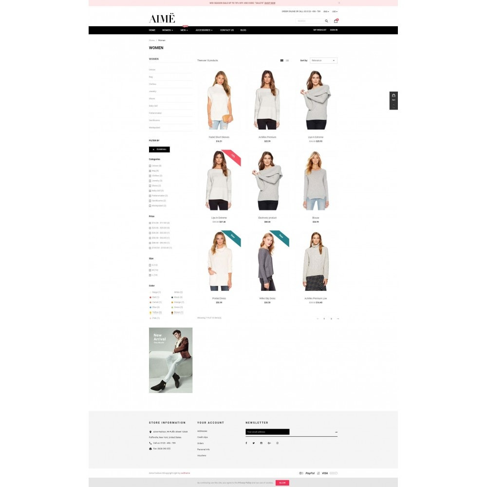 theme - Moda & Obuwie - Aime Fashion - 3