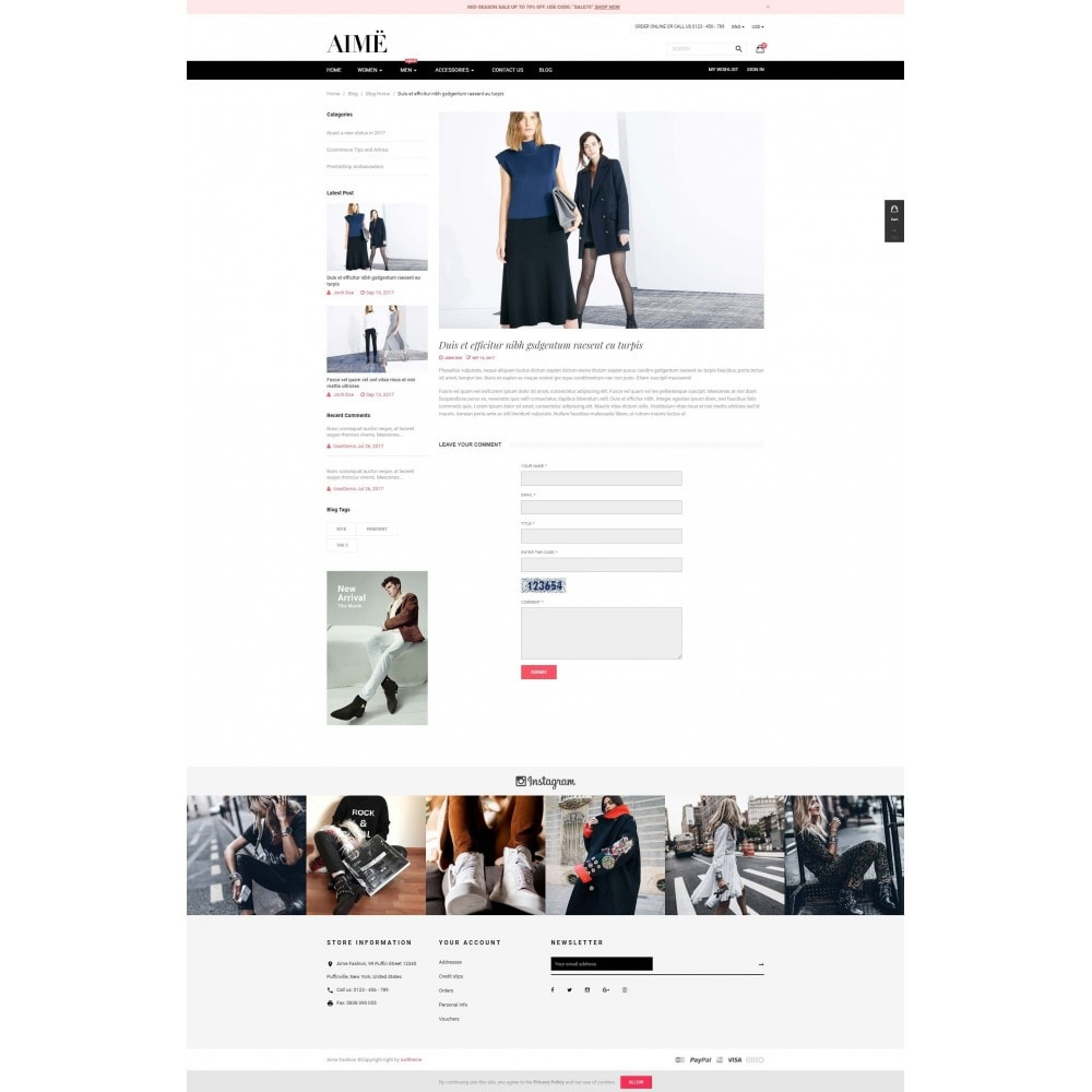 theme - Fashion & Shoes - Aime Fashion - 5