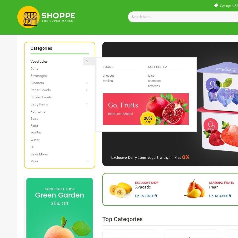 theme - Alimentos & Restaurantes - Mega Shoppe Grocery - 9