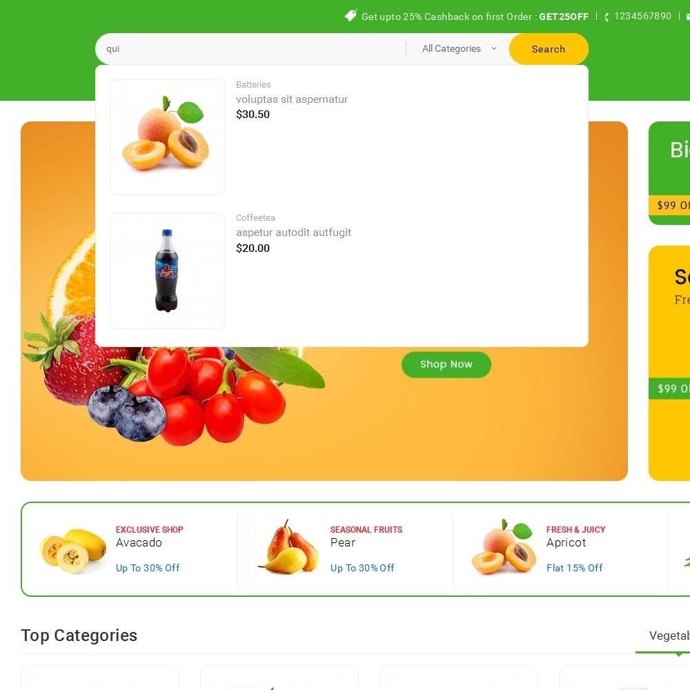 theme - Alimentos & Restaurantes - Mega Shoppe Grocery - 10