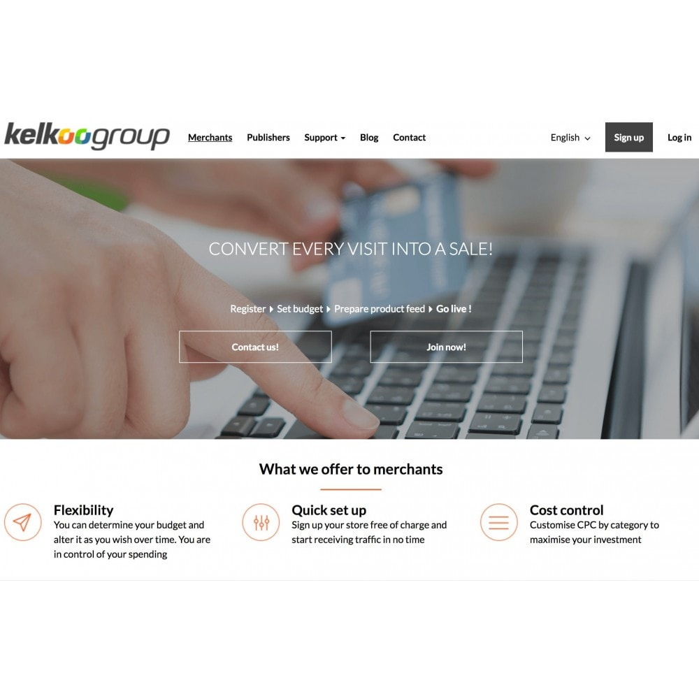 module - Analytics & Statistics - Easy Kelkoo Tracking - 1