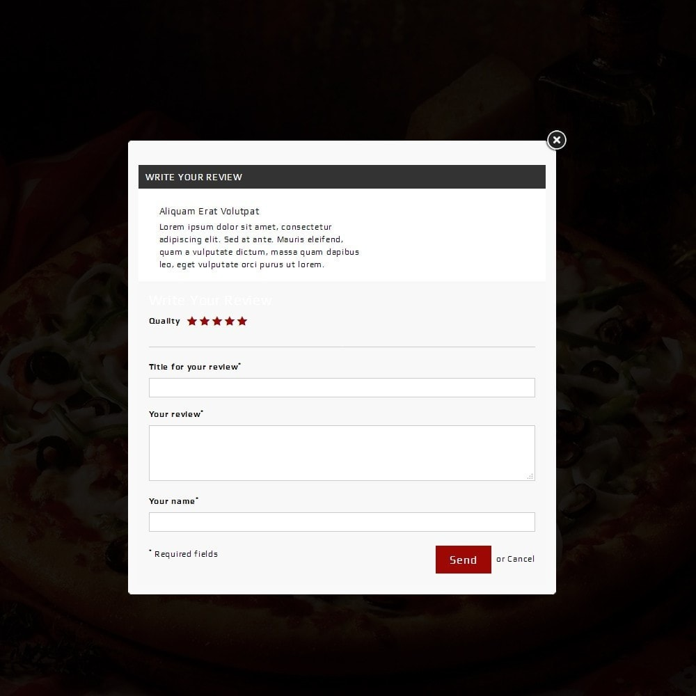 theme - Lebensmittel & Restaurants - Pizza Store - 7