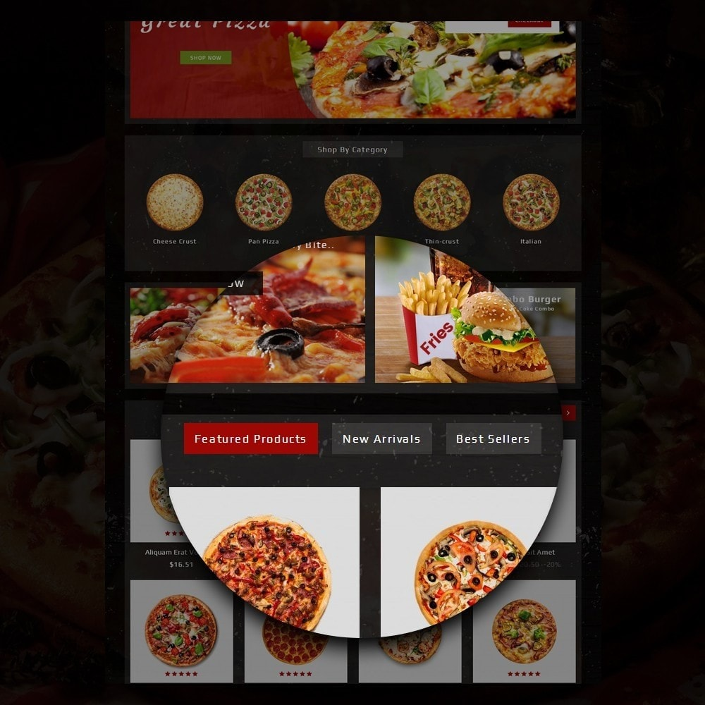 theme - Lebensmittel & Restaurants - Pizza Store - 9