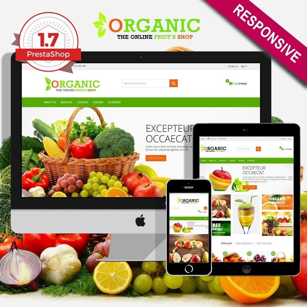 Organic Multishop  HTML5