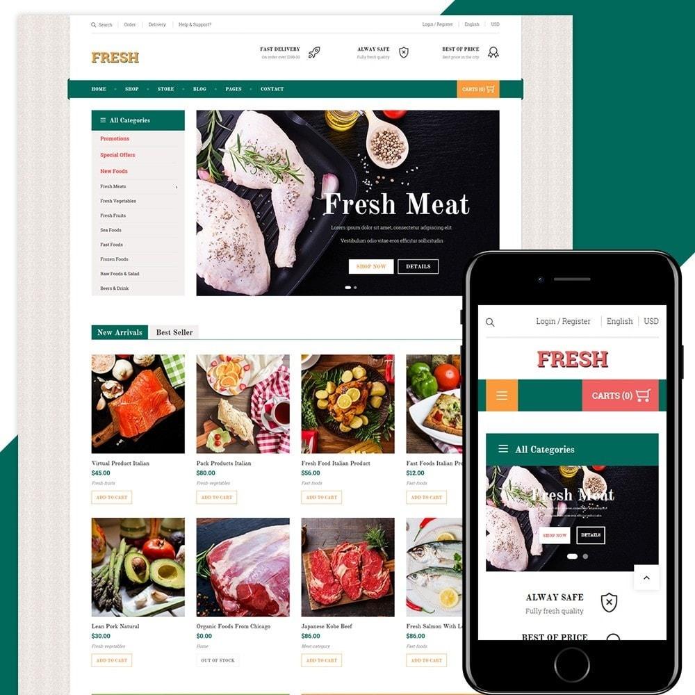 theme - Food & Restaurant - Fresh Store - 1