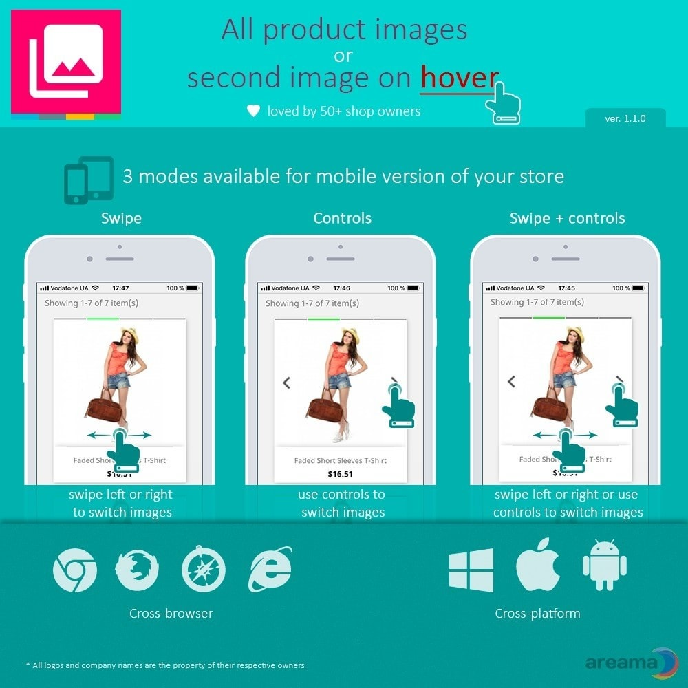 module - Visuels des produits - All product images or second image on hover - 3