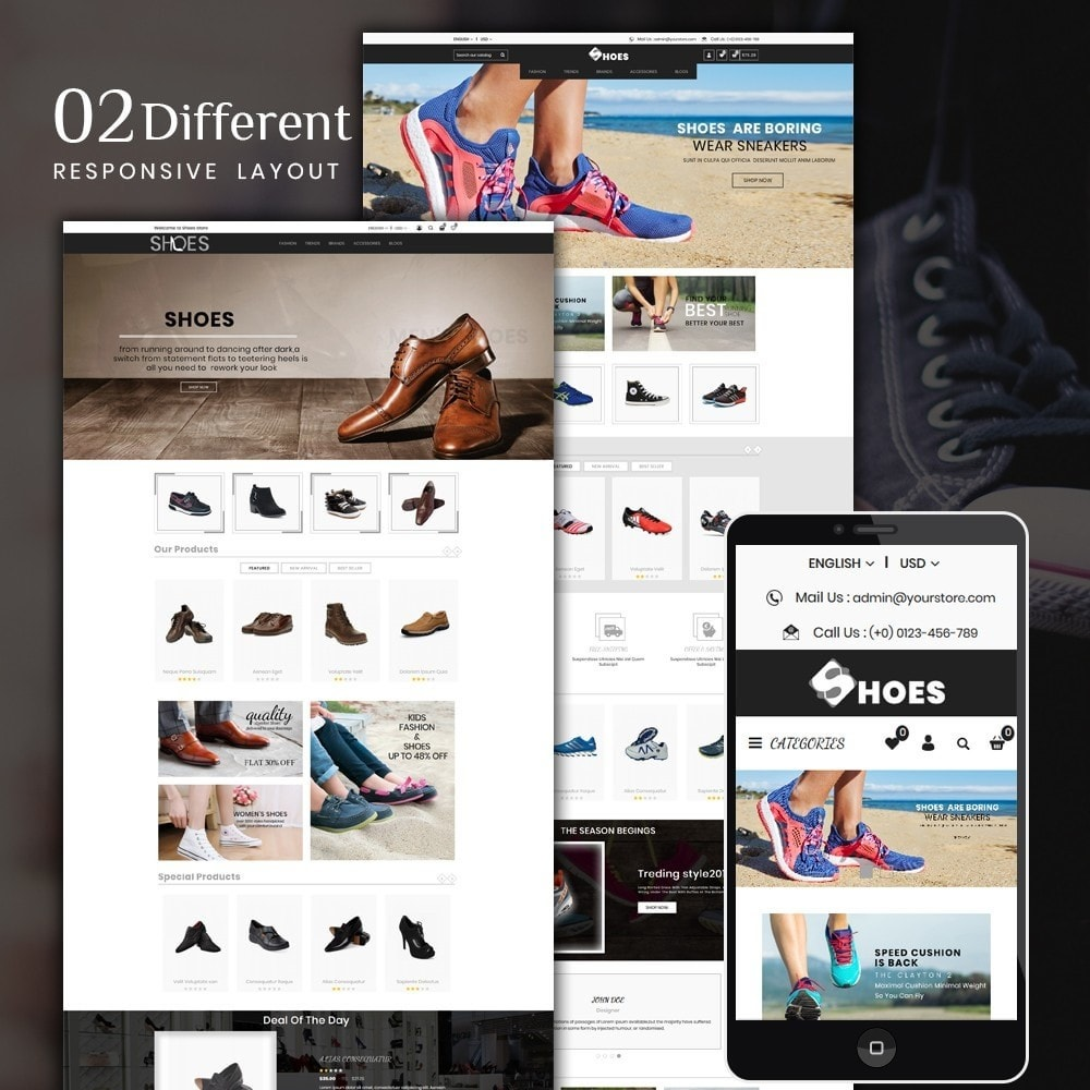 theme - Moda y Calzado - Shoes Shop - 1