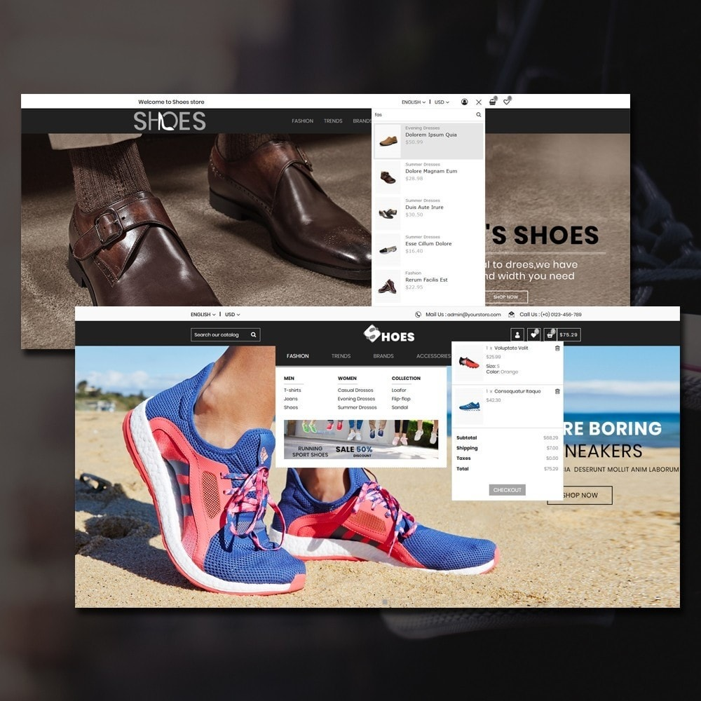 theme - Mode & Chaussures - Shoes Shop - 5
