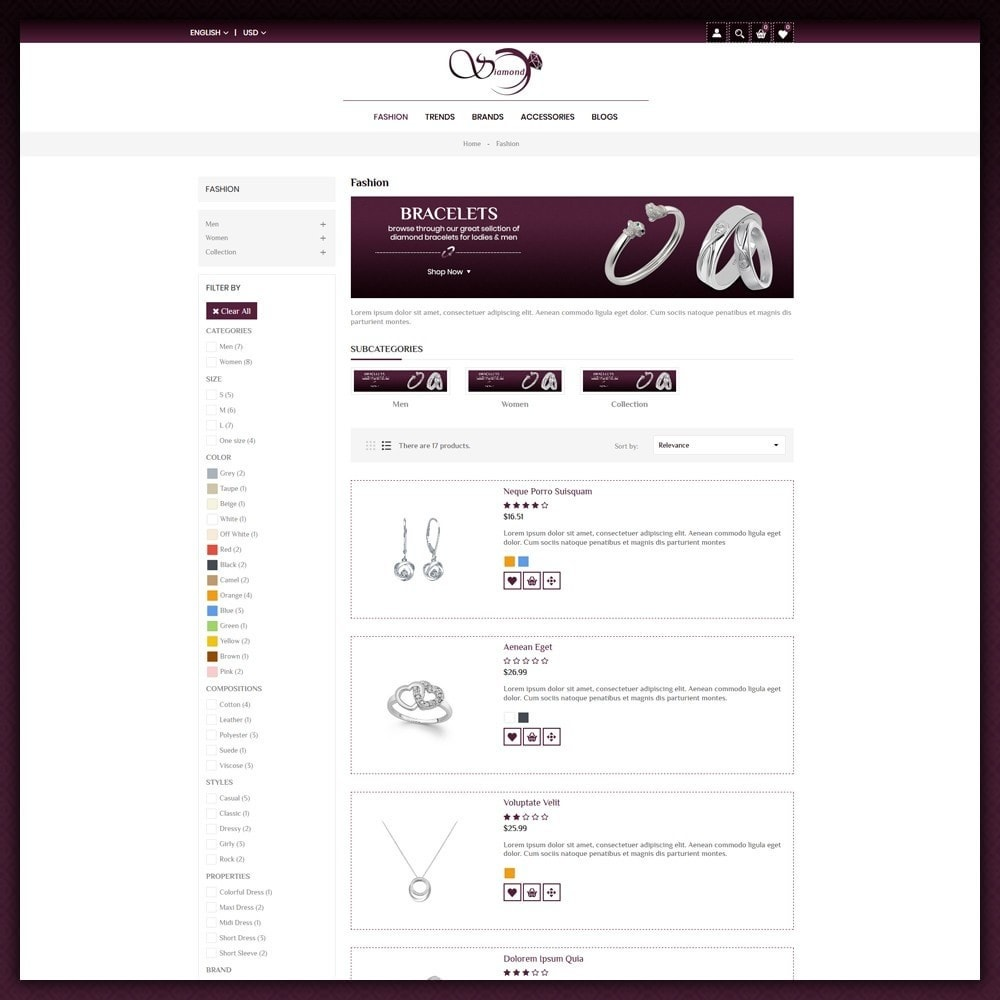theme - Sieraden & Accessoires - Diamond Jewellery Shop - 4