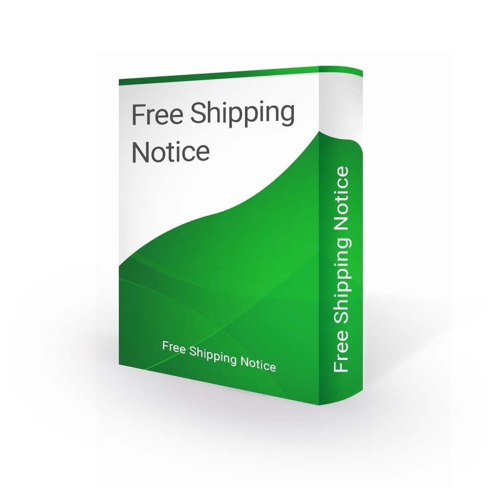 module - Стоимость доставки - Top Banner - Free Shipping Notification - 1