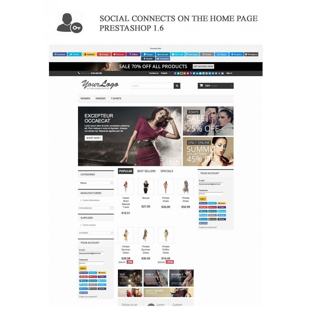 bundle - Boutons Login & Connect - Blog PRO, Social Connexions, Product Avis - 16