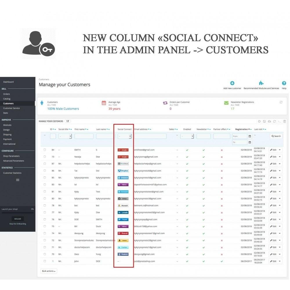 bundle - Boutons Login & Connect - Blog PRO, Social Connexions, Product Avis - 22