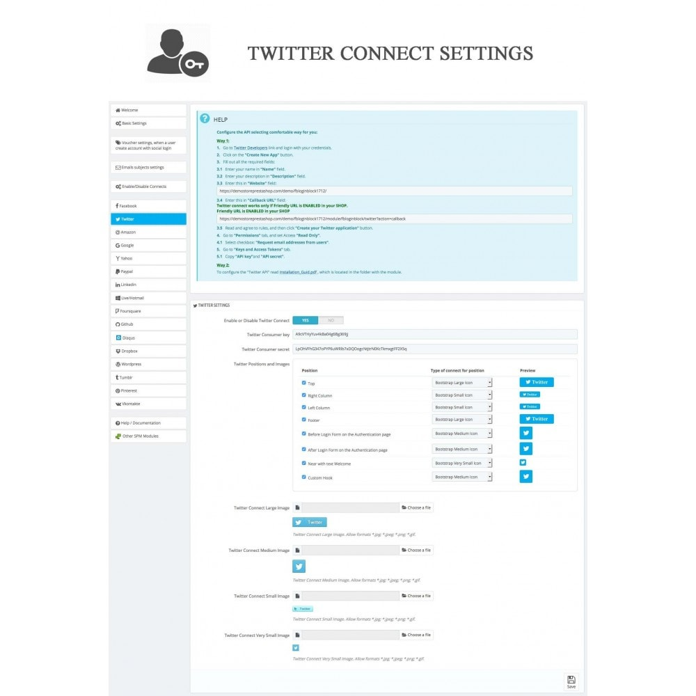 bundle - Login/Connessione - Pack: Blog PRO, Social Connects, Product Reviews - 27