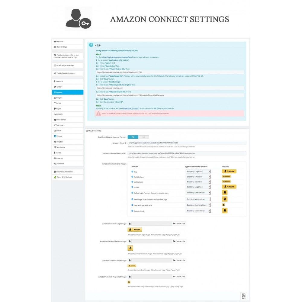 bundle - Boutons Login & Connect - Blog PRO, Social Connexions, Product Avis - 28