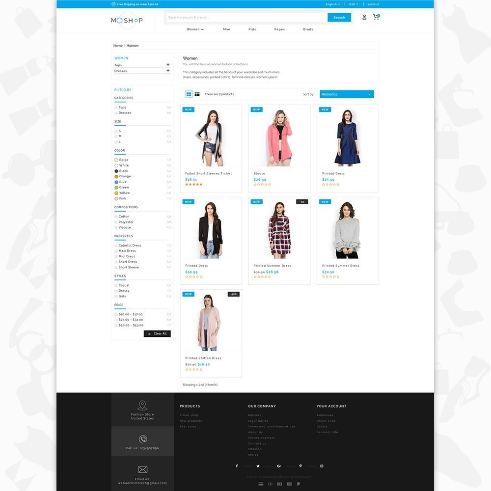 theme - Moda & Obuwie - MOShop -  The Fashion Store - 3