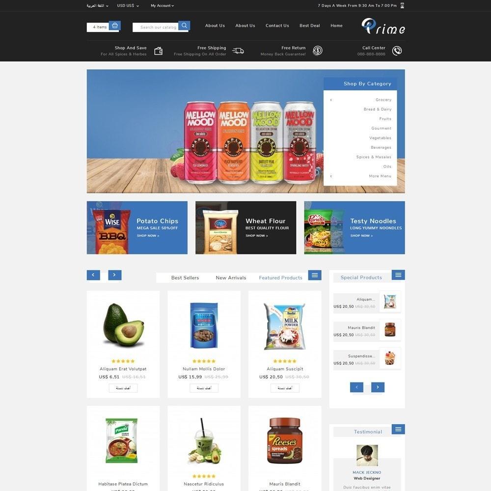 theme - Żywność & Restauracje - Prime Grocery Store - 11