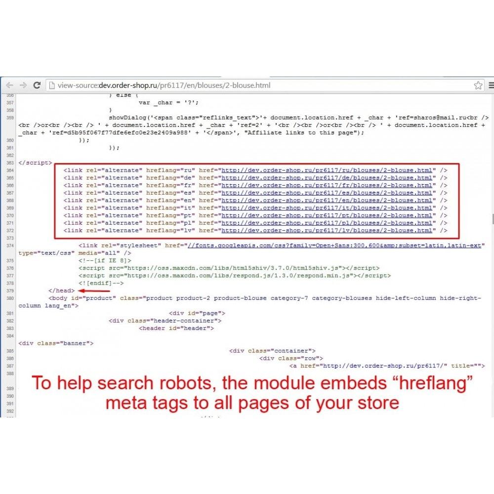 module - SEO (Posicionamiento en buscadores) - HrefLang Tag - 3