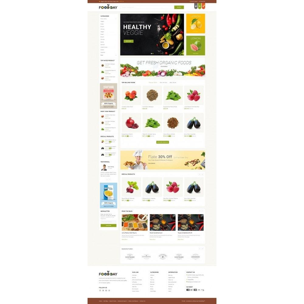 FoodDay - Food & Restaurant Store