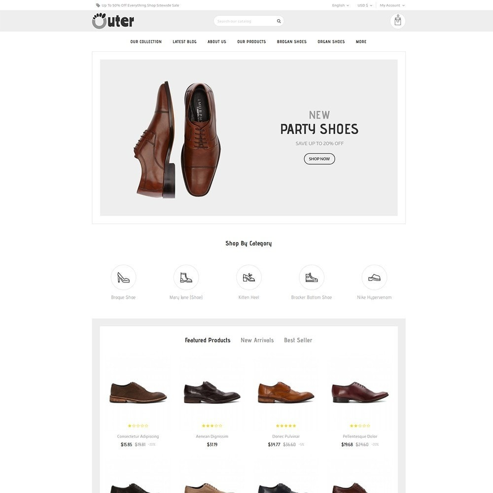 Outer - The Shoe Shop