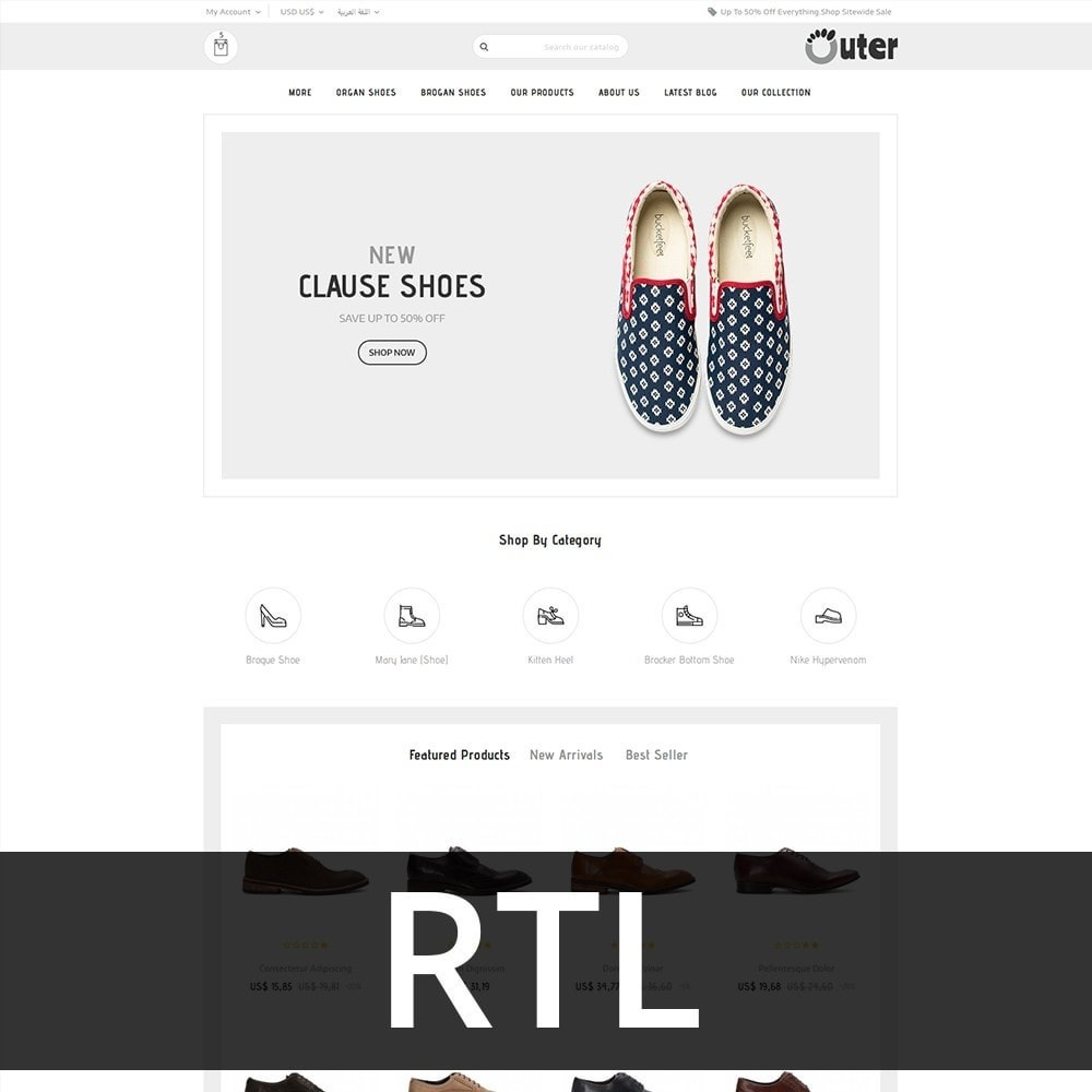theme - Mode & Schuhe - Outer - The Shoe Shop - 3