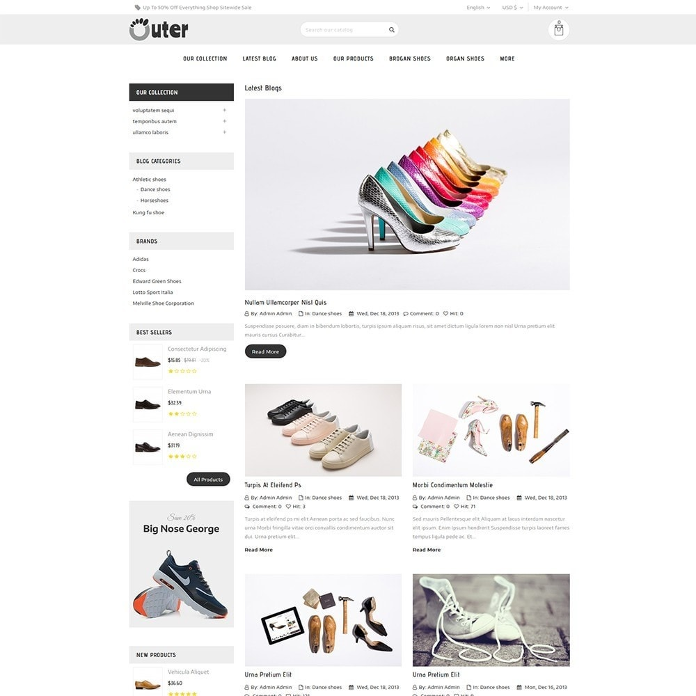 theme - Moda & Calçados - Outer - The Shoe Shop - 7