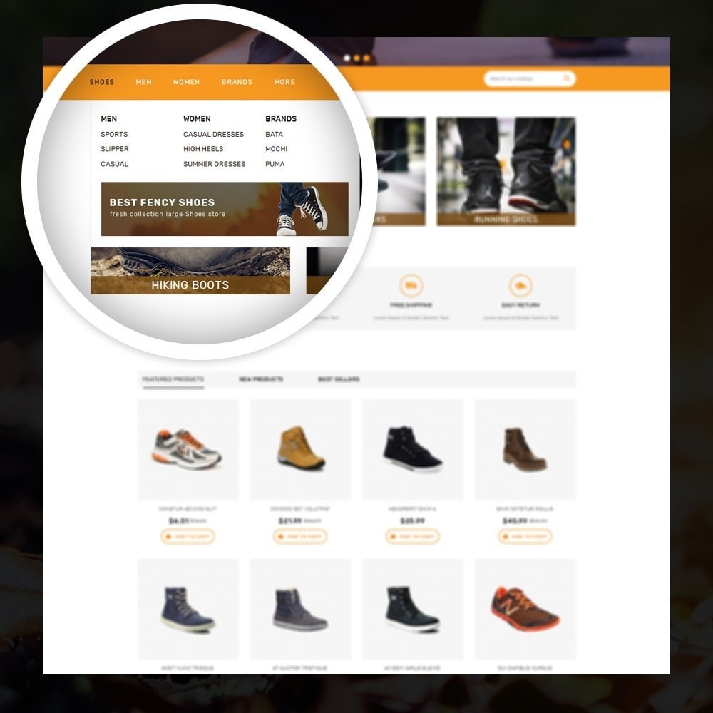 theme - Mode & Schoenen - Coolshoes - Shoes store - 7