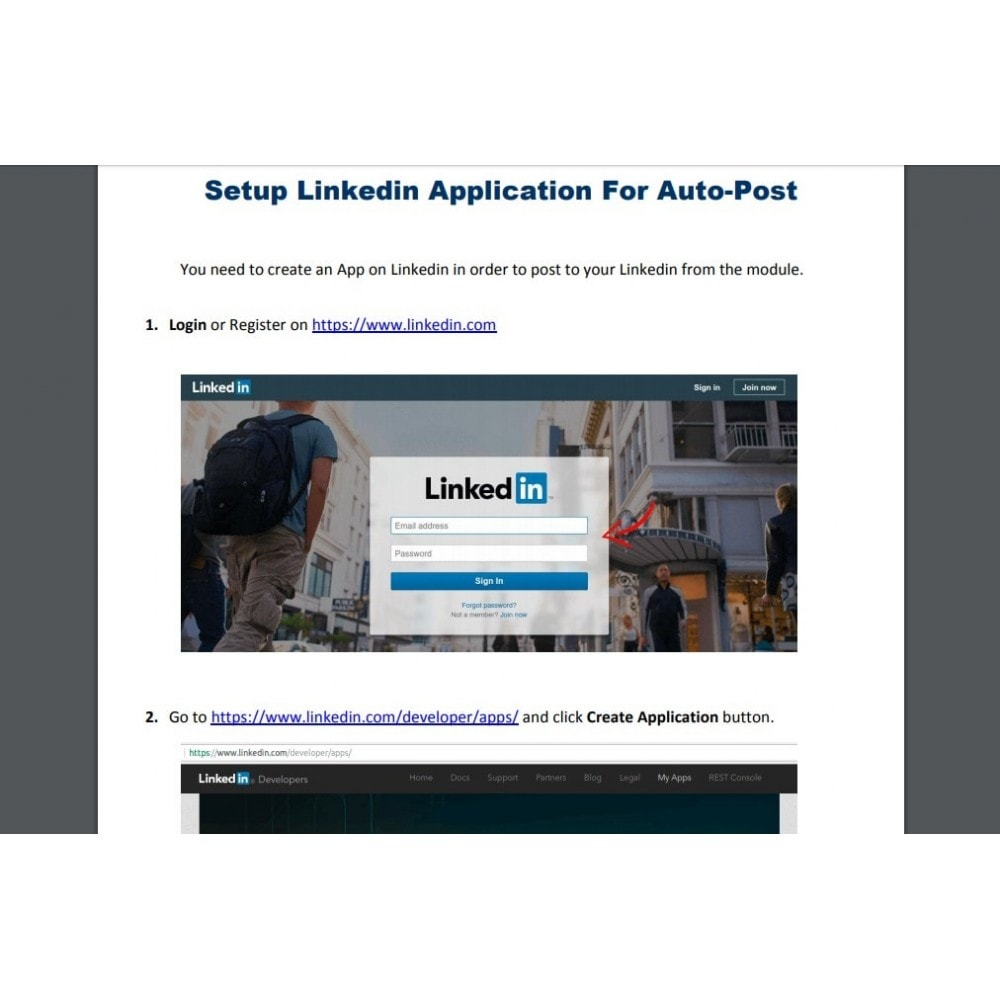 module - Produkte in Facebook & sozialen Netzwerken - Auto-Post Products to Linkedin - 8