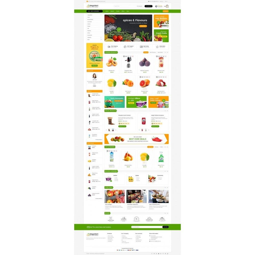 theme - Alimentos & Restaurantes - Mega Mart Grocery - 2