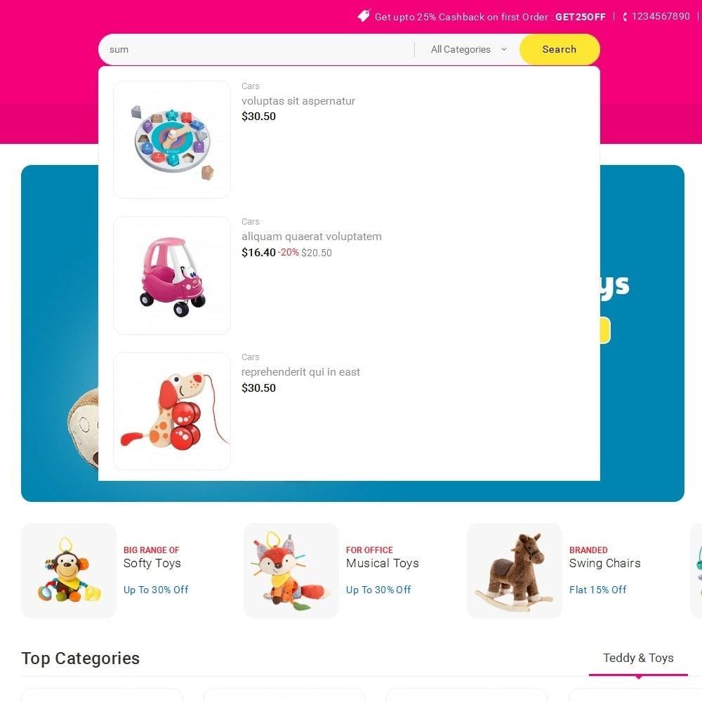 theme - Zabawki & Artykuły dziecięce - Mega Shoppe Kid Toys - 10