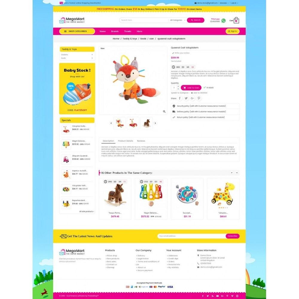 theme - Дети и Игрушки - Mega Mart Kids Toys - 5