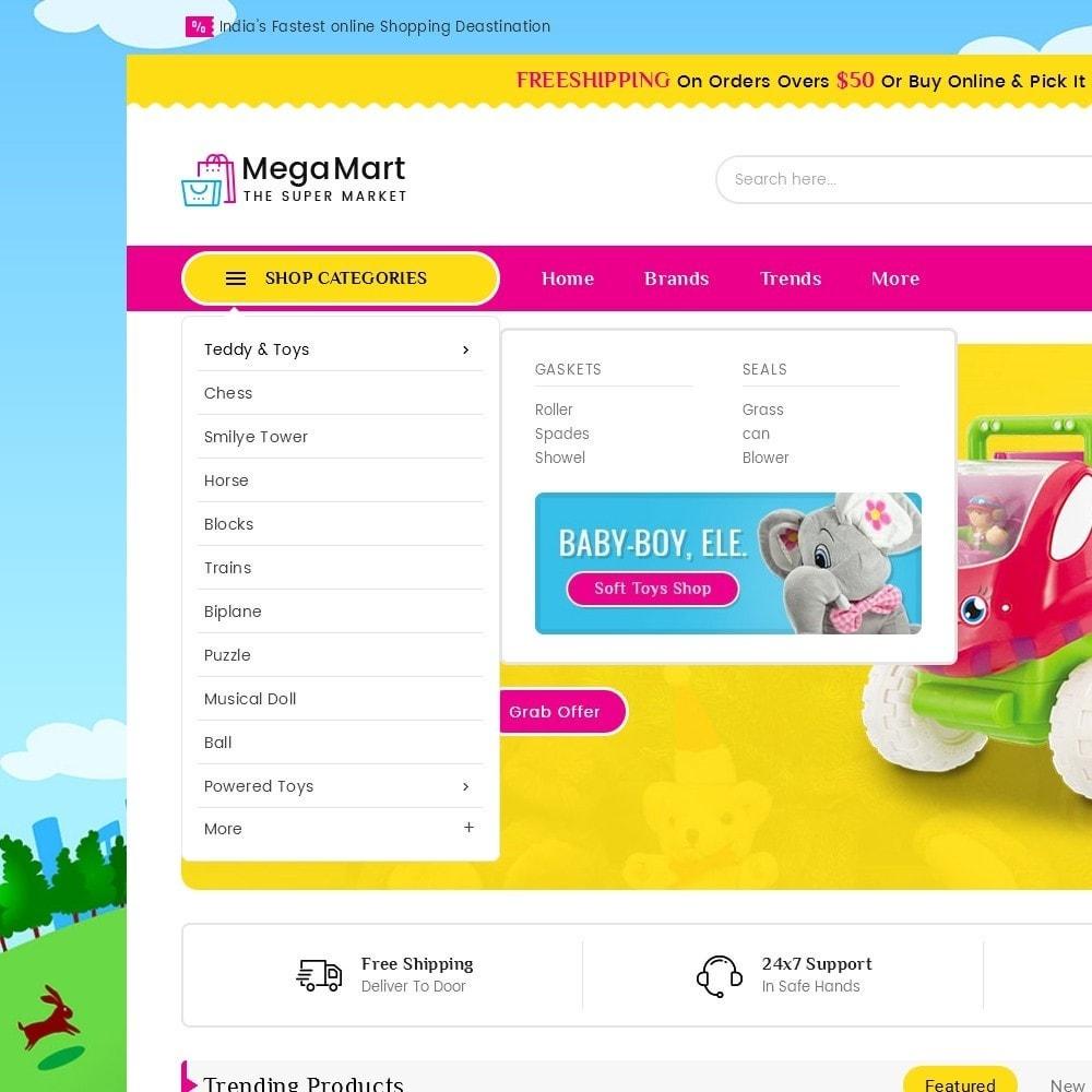 theme - Crianças & Brinquedos - Mega Mart Kids Toys - 9