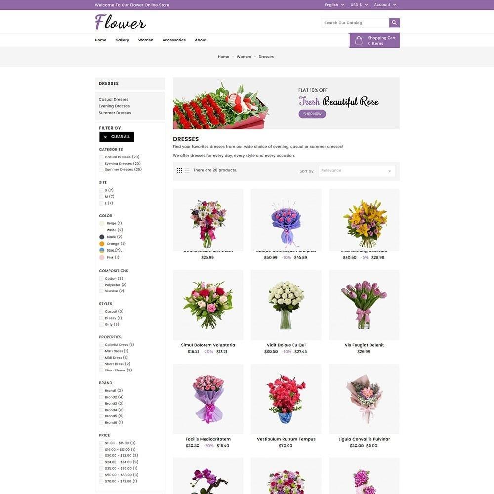theme - Regalos, Flores y Celebraciones - Flower Store - 4