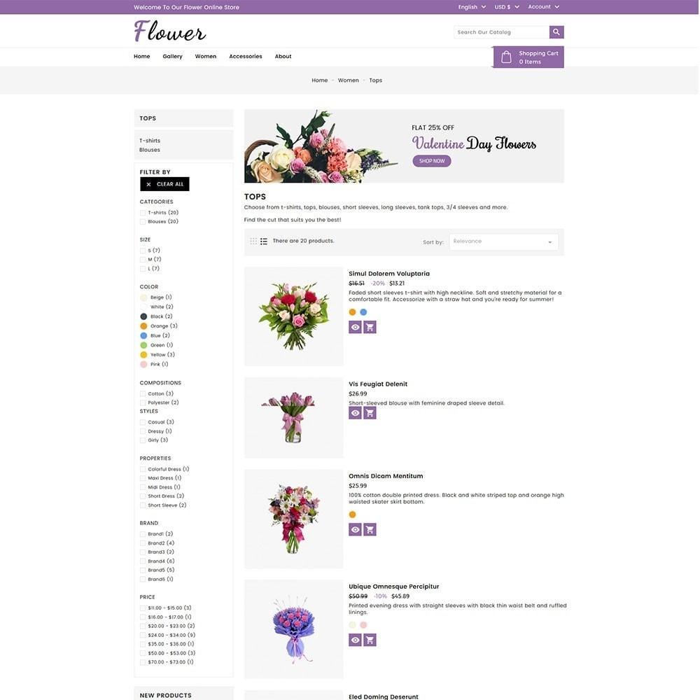 theme - Cadeaux, Fleurs et Fêtes - Flower Store - 5