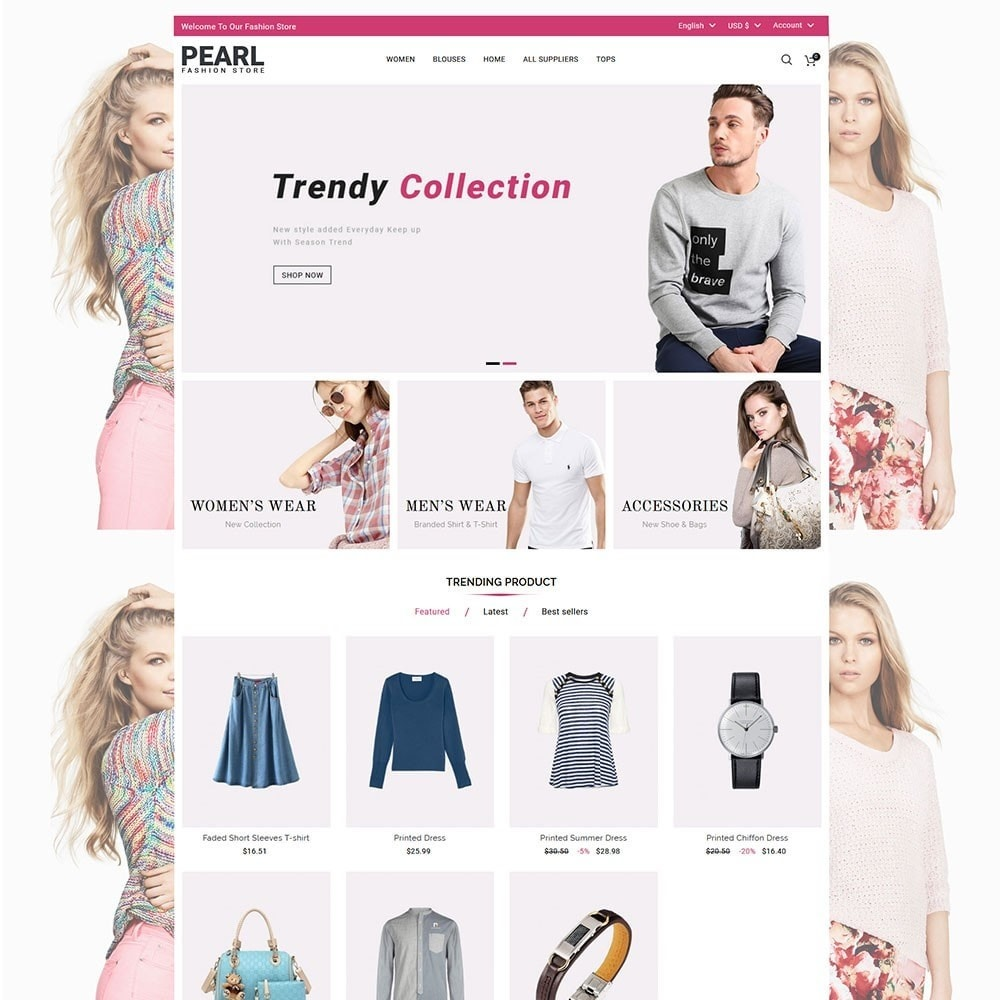 theme - Мода и обувь - Pearl Fashion - 2